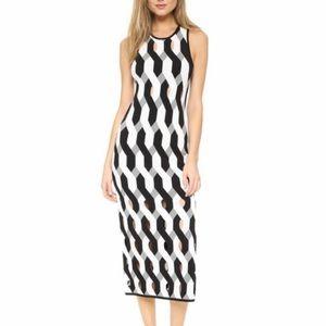 Rag & Bone Olympia Printed Cutout Dress